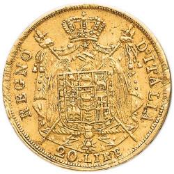 20 Lires Or Napoléon Ier - États Italiens et Royaume de Napoléon