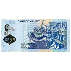 Billet 50 Roupies Île Maurice 2013