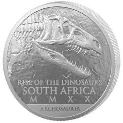 25 Rand Argent Afrique du Sud 2020 - Cœlophysis