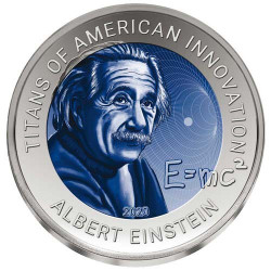 2 Cedis Titane 2020 colorisée - Albert Einstein