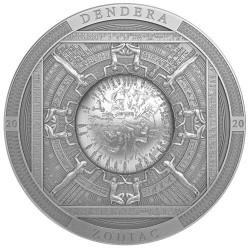 20 Dollars Argent 2020 - Le zodiaque de Dendéra