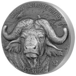 5 000 Francs CFA Argent Côte d'Ivoire 2020 - Big five buffalo