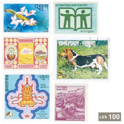 100 timbres Bouthan