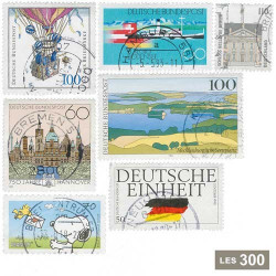 300 timbres Allemagne