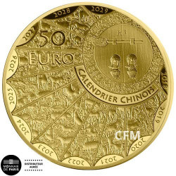 50 Euro Or France BE 2020 - Année du Buffle