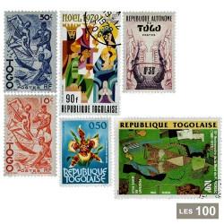 100 timbres Togoà travers l'histoire