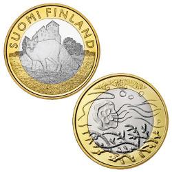 Lot 2 x 5 Euro Finlande 2014