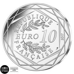 10 Euro Argent 2017 - La Corse Corsica