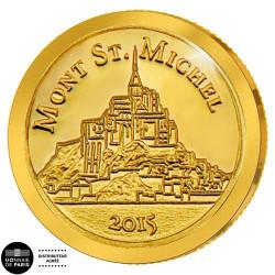 100 Francs Or BE - Le Mont Saint-Michel