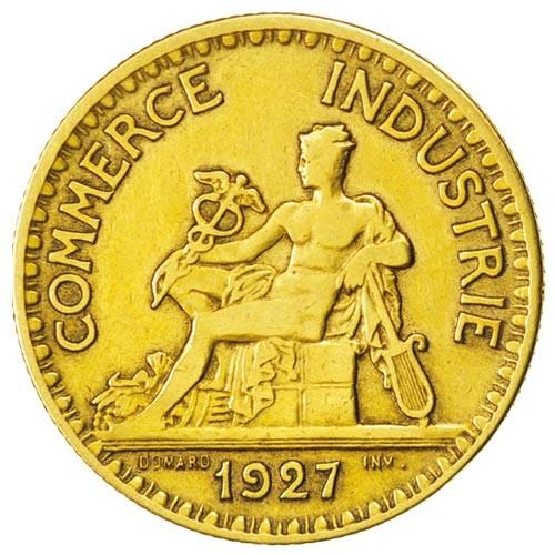 2 Francs Chambres de Commerce 1927