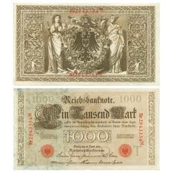 Billet 1 000 Mark Allemagne 1910
