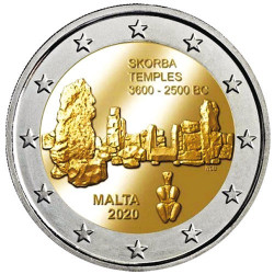 2 Euro Malte BU 2020 - Ta'Skorba