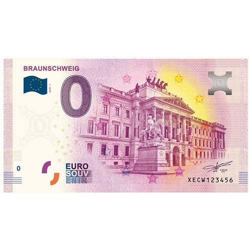 Billet Souvenir 0 Euro 2018 - Château de Brunswick