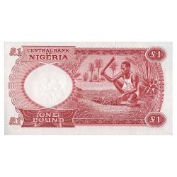 Billet 1 pound - Nigeria 1967