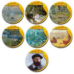 Lot des 2 coffrets Monet et Musiciens