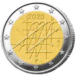 2 Euro Finlande 2020 - 100 ans de l'université de Turku