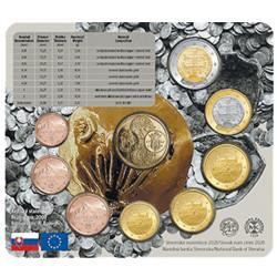 Série Slovaquie BU 2020 - 50 ans de la Société numismatique slovaque
