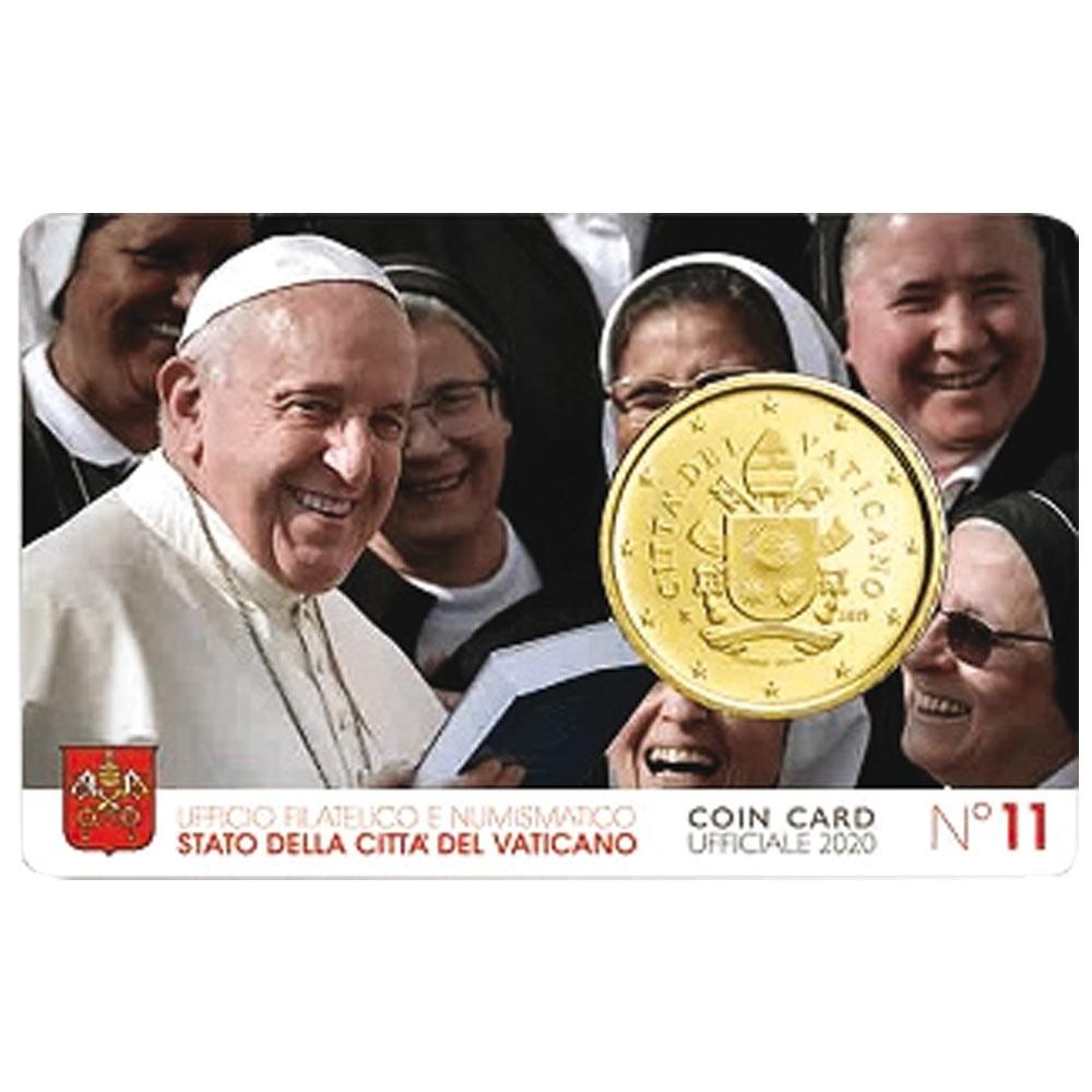 Miniset 50 cent Vatican 2020