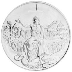 500 lires Argent Vatican 1983-1984 - Année Sainte