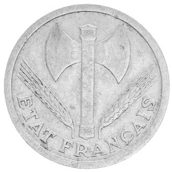 1 Franc Etat Français 1943