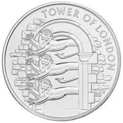 5 Livres Cupronickel Royaume-Uni BU 2020 - La ménagerie royale