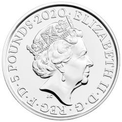 Lot des 2 x 5 Livres Royaume-Uni BU 2020-2019