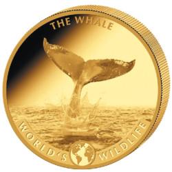 10 Francs Or Congo 2020 - Baleine