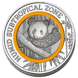 2 Cedis Cupronickel Ghana 2020 colorisée - Panda