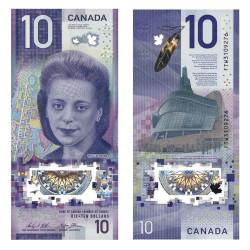 10 Dollars Canada 2018