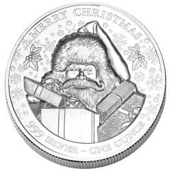 2 Dollars Argent BU 2020 - Père Noël