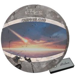 1 Dollar météorite 2020 colorisée - Campo del Cielo