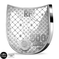 500 Euro Argent France BE...