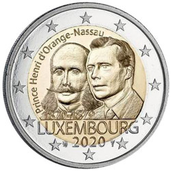 2 Euro Luxembourg 2020 -...