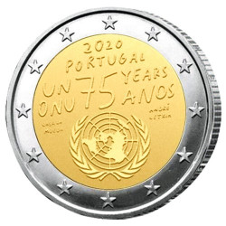 2 Euro Portugal BU 2020 - ONU