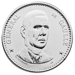 Médaille De Gaulle 1984