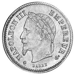 20 Centimes Argent -...