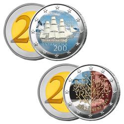 Lot 2 x 2 Euro Estonie 2020...