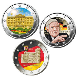 3 x 2 Euro Allemagne...