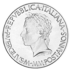 500 Lires Argent 1981 -...