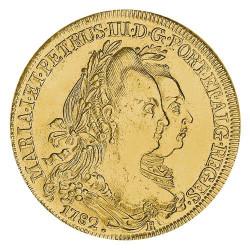 6400 Reis Or 1777-1786 -...