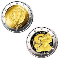 Lot des 2 x 2 Euro Belgique...