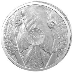 5 Rand Argent BU 2019...
