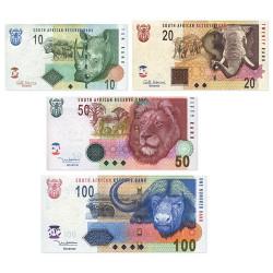 4 billets Afrique du Sud 2005