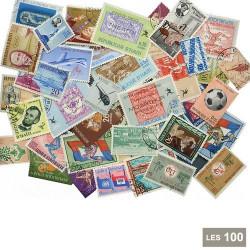 100 timbres Haïti*