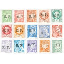 15 timbres Lyon