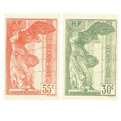 2 timbres Samothrace
