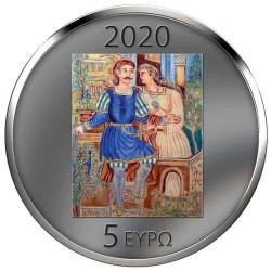 5 Euro Argent Grèce BE 2020...
