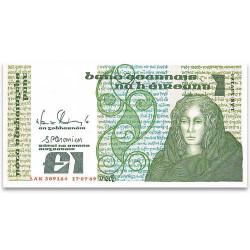 Billet 1 Livre Irlande...