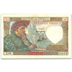 Billet 50 Francs Jacques Cœur