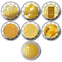 Lot des 21 x 2 Euro...